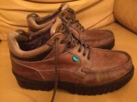 Kickers Brown leather boots Size 8 (42)