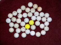 42 Golf Balls Suitable For Practice