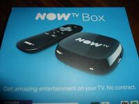 3 X NOW TV BOX NEW AND UN-USED