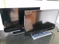 """TWO x Toshiba 32"""" EL833B TVs in Very Good Used Condition"""