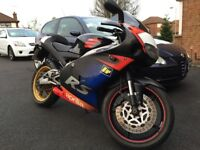 APRILLA RS125 2003 RACE REPLICA RECENTLY REBUILT TOP END and GEAR BOX NOT YAMAHA YZF R125 or CBR 125