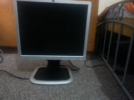 19 inch lcd monitor in 15 pound very good condition