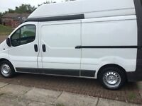Renault traffic high top van for sale