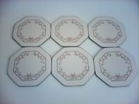 Boxed set of 6 Coverleaf Laminated Coasters