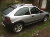 12 months mot Rover streetwise 1.4 Silver
