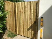 All types of fencing! Supply and fit. Please message or call for a free quote.