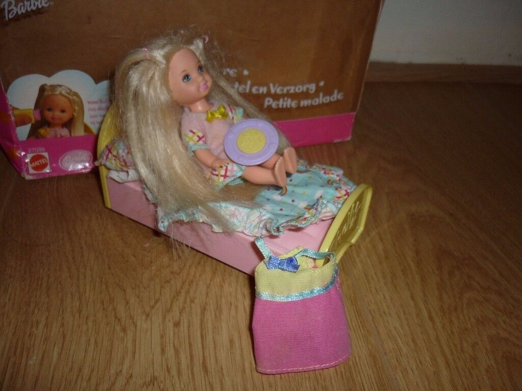 Barbie Shelly doll bed set for sale