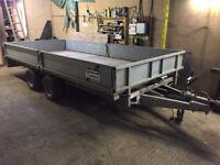 Ifor Williams Trailer 14' 3500kg LM146G Flatbed with Sides - 3.5T Flat Bed Braked - NO VAT