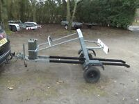 JET SKI TRANSPORTER CAR TRAILER FULLY GALVANISED WITH WINCH FUEL CAN LIGHTS ETC..