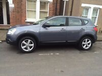 Quick SALE .Nissan Qashqai 1.6 Tekna 2WD 5d Black Full leather interior, Panoramic Glass Roof