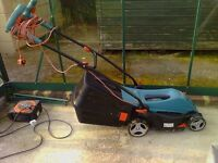 BOSCH ELECTRIC LAWN MOWER - ONLY ONE YEAR OLD