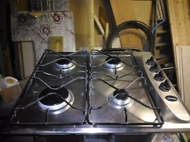 Gas double oven and separate gas hob