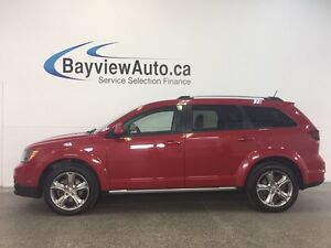 2016 Dodge JOURNEY CROSSROAD- AWD! ROOF! LEATHER! NAV! 7 RIDER!