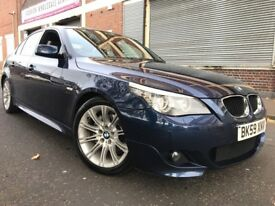 BMW 5 Series 2010 2.0 520d M Sport AUTOMATIC, Business Edition 4 door 2 OWNERS, F/S/H, HUGE SPEC