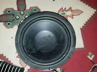 Cd radio amp subwoofer speakers