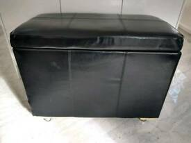 REDUCED TOY CHEST BLANKET BOX OTTOMAN