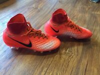 Football boots Nike MAGISTA obra sock boots size 3 almost new