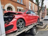 Mercedes cla car parts breaking