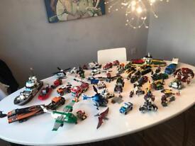 Massive Lego Set collection Jurassic World Marvel DC City & minifigures