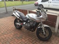 Honda Hornet 600. Great bike!! New front tyre and brakes.