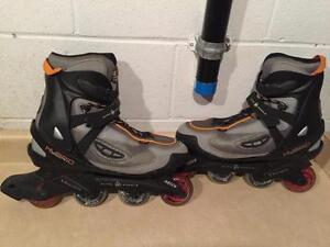 Men's Size 14 Ultra Wheels Hybrid V-3 Abec 5 Rollerblades