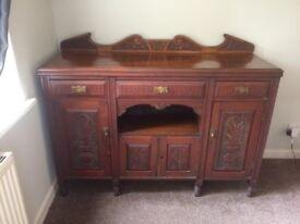 Antique Mahogany sideboard