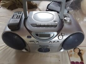 Panasonic Stereo CD/Radio Player