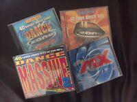 Various old school dance compilation CD's