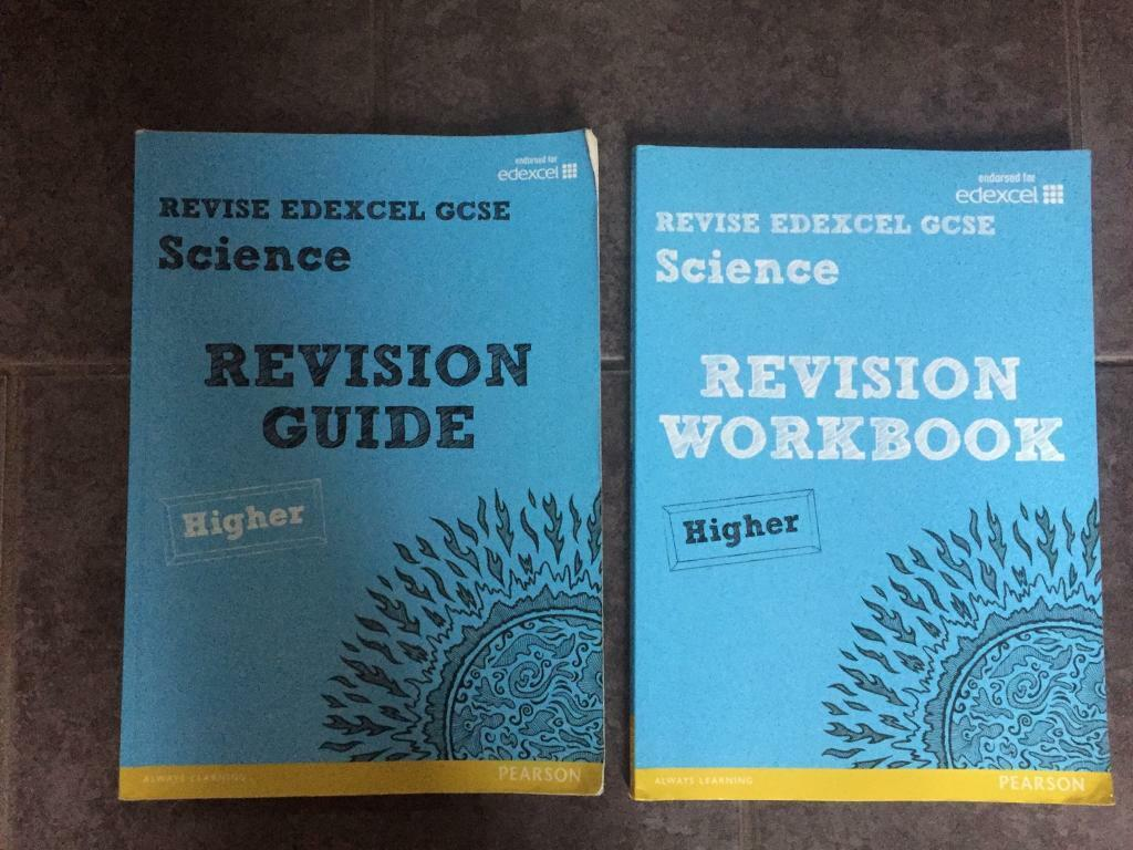 2 GCSE Science Higher Revision Guide & workbooks