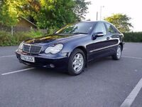**Automatic** 2002 Mercedes Benz C220 CDI Classic SE 6 Month MOT Full Service History Low Miles..