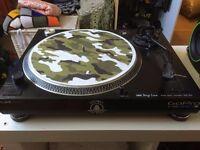 STAGE LINE DJP 200- RECORD DECK TURNTABLE PIATTO GIRADISCHI DJ RECORD PLAYER