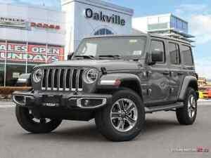 2018 Jeep All-New Wrangler Unlimited SAHARA   NAV   HEATED SEATS
