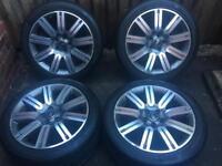 "20"" Genuine Range Rover Sport VW Transporter Alloy Wheels Tyres"