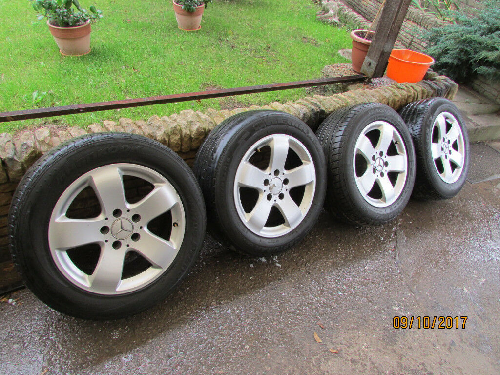 Mercedes Benz w 211 E-Class Rucha 7.5 x 16 Alloy Wheel £80
