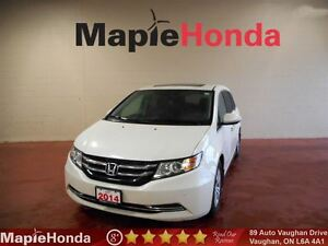 2014 Honda Odyssey EX-L| Leather, Backup Cam, DVD Player!
