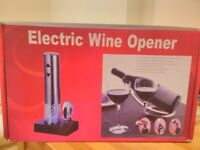 Brand New Rechargable Wine Opener with foil cutter