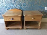 Pair of bedside tables can deliver locally