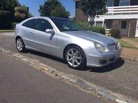 C Class Mercedes for sale. Excellent condition.Low Milage. No VAT. Private Sale