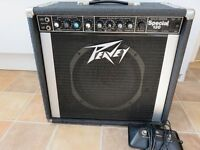 Peavey Special 130 combo amp with footswitch