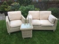 Conservatory/garden room furniture