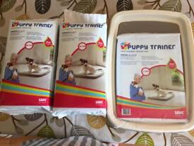 Savic puppy training pads and tray NEW!!