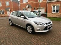 2012 FORD FOCUS TITANIUM 1.6, CRUISE, FULL SERVICE HISTORY, 1 KEEPER, MOT 11 MONTHS, AUX, USB
