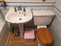 Bathroom suite shell style REDUCED BARGAIN