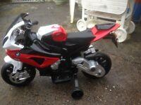 12v ride on bmw motorbike