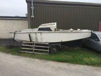 Sailing/fishing boat MUST SEE LOOK @