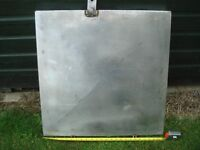 BOAT DECK or ENGINE HATCH STAINLESS STEEL MORE SUITED FOR SMALL FISHING TRAWLER or BOAT