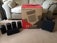 Wharfedale DX-1 HCP 5.1 Surround Sound System