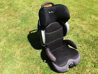 Silver Cross Child Car Seat age 4 to 11 Light weight, aluminium body.