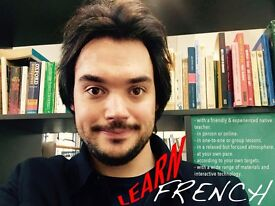 One-to-one/small group/online French tuition with native teacher
