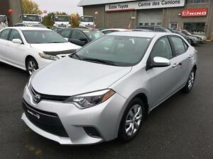 2015 Toyota Corolla CERTIFIÉ LE AC VITRES CAMÉRA RECUL